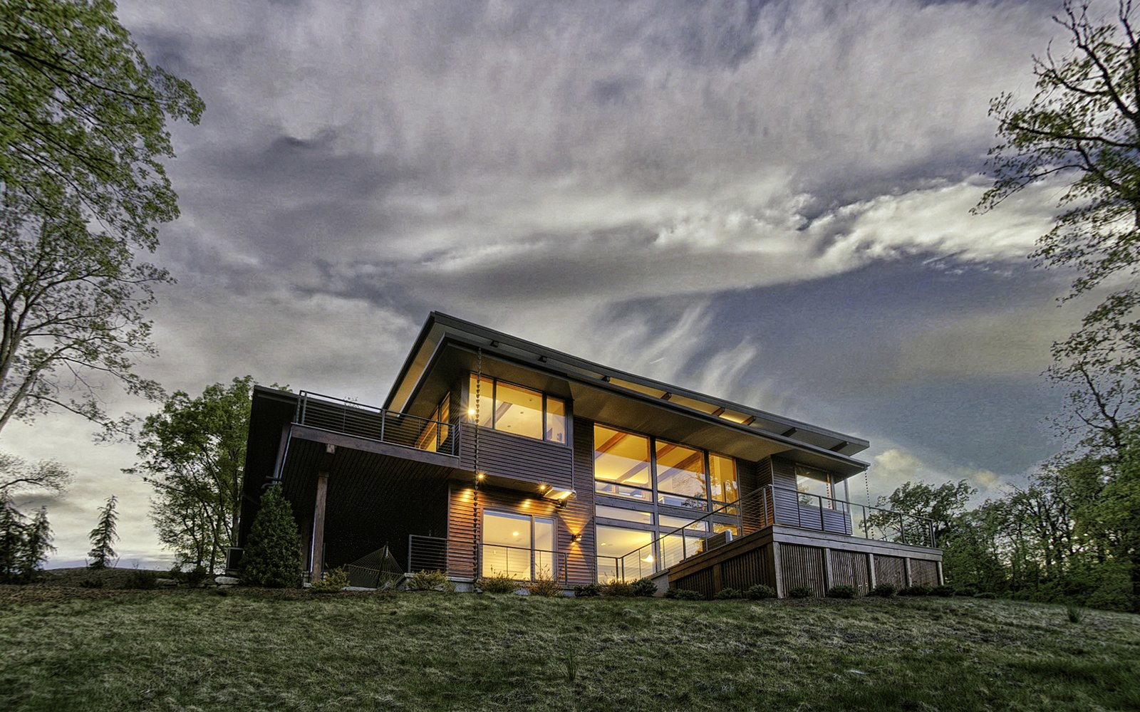 Tagged: Exterior, Prefab Building Type, and House.  Sweet Repose by Turkel Design