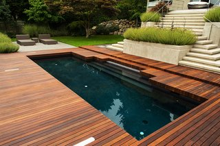 Take a Plunge Into These Enticing Modern Pools - Photo 6 of 12 - Black Pool