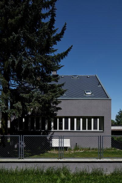 Modern home with outdoor. Photo  of House by the Forrest