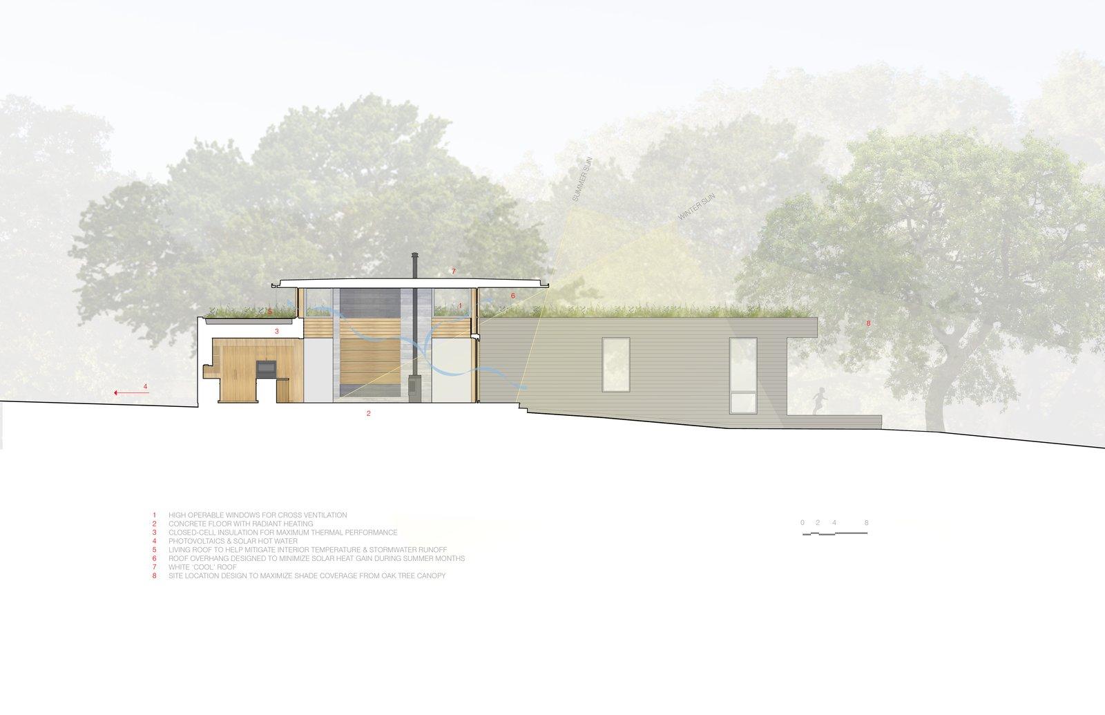 #TurnbullGriffinHaesloop #outdoor #landscape #sustainability  #livingroof Sonoma Residence by Turnbull Griffin Haesloop Architects