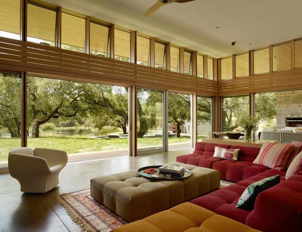 #TurnbullGriffinHaesloop #interior #livingroom #window #landscape Photo 7 of Sonoma Residence modern home