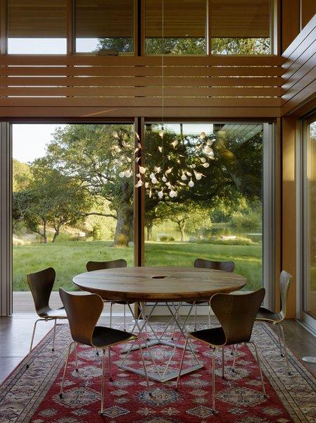#TurnbullGriffinHaesloop #interior #diningroom #window Photo 9 of Sonoma Residence modern home