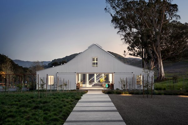 #TurnbullGriffinHaesloop #barn #outdoor #exterior#landscape Photo  of Hupomone Ranch modern home
