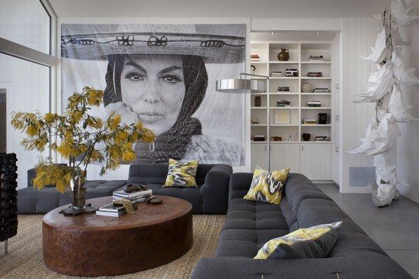 #TurnbullGriffinHaesloop #interior #livingroom  Photo 4 of Hupomone Ranch modern home