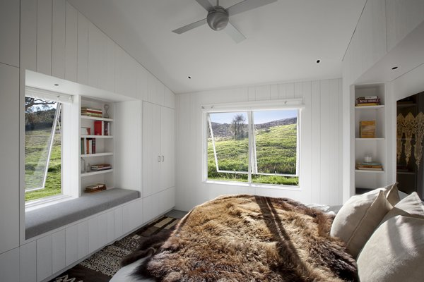 #TurnbullGriffinHaesloop #interior #bedroom #windowseat Photo 8 of Hupomone Ranch modern home