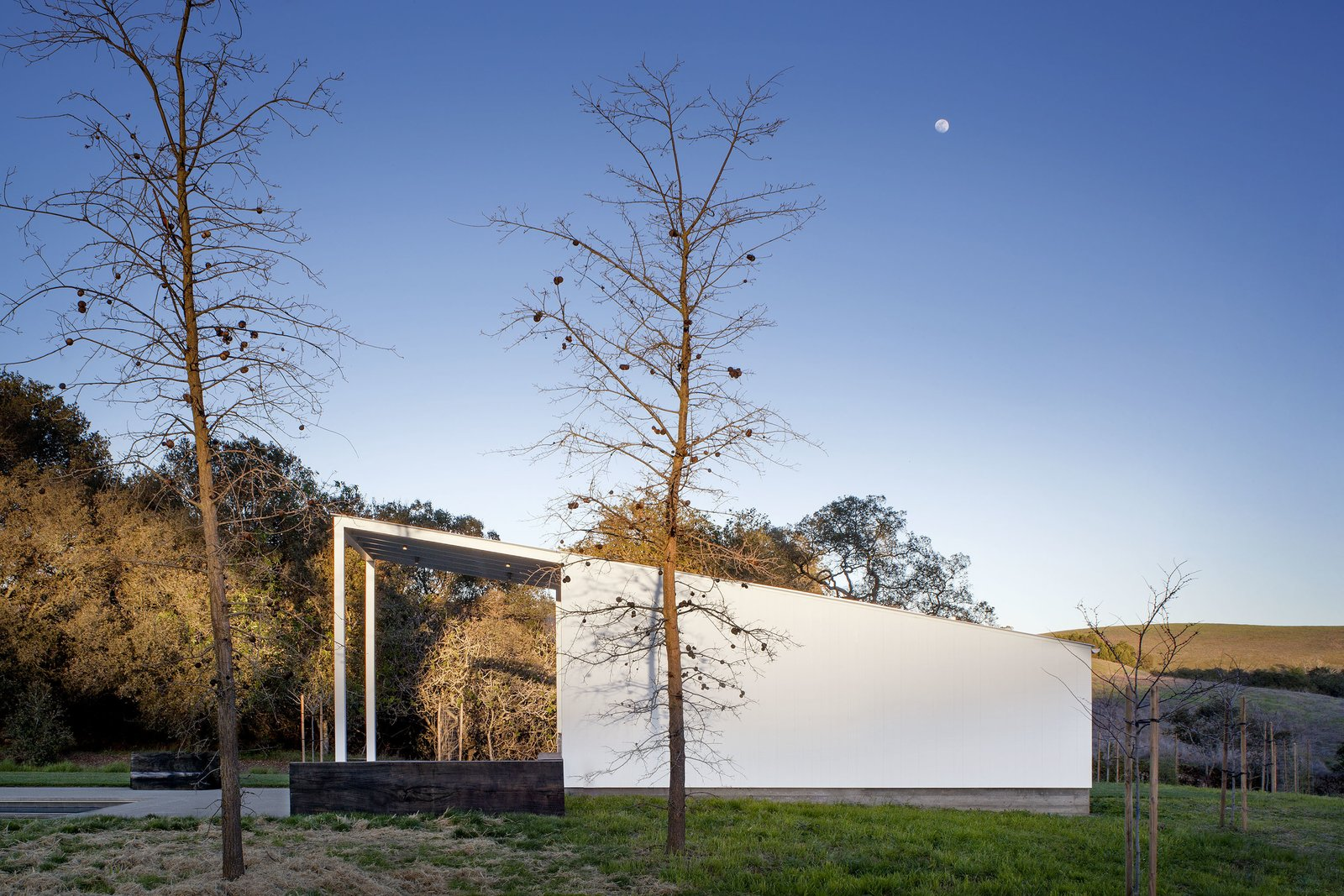 #TurnbullGriffinHaesloop #exterior #poolhouse #landscape   Hupomone Ranch by Turnbull Griffin Haesloop Architects