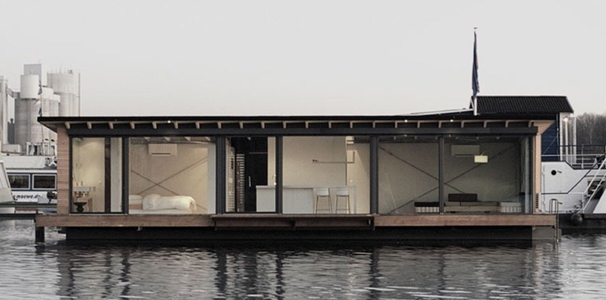 Houseboats by Nick Dine