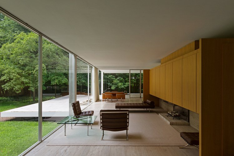Farnsworth House by Nick Dine