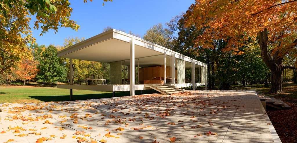 Farnsworth House by Nick Dine