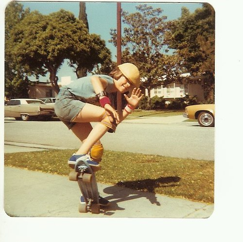 1970s skate by Nick Dine