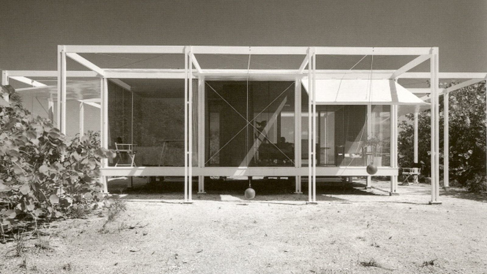 Paul Rudolph - Florida beach house with counterweighted shutters.  Surf Shacks by Chris Deam