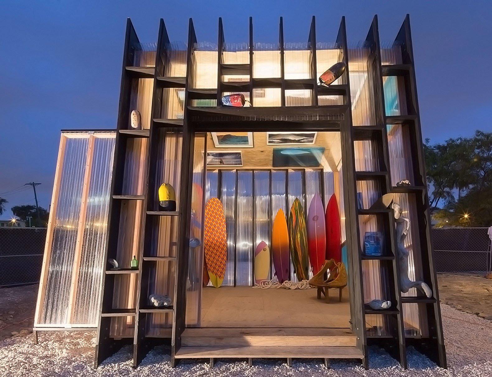 """Yves Behar""""s surf shack.  Surf Shacks by Chris Deam"""