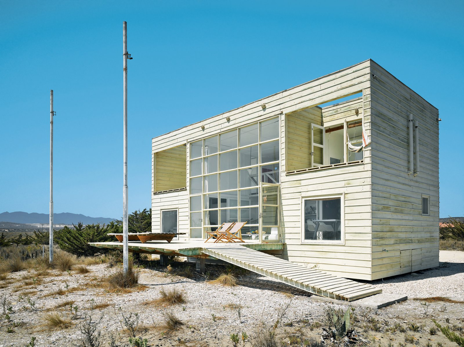 Mathias Klotz Architect. House for his mother.  Chile  Surf Shacks by Chris Deam