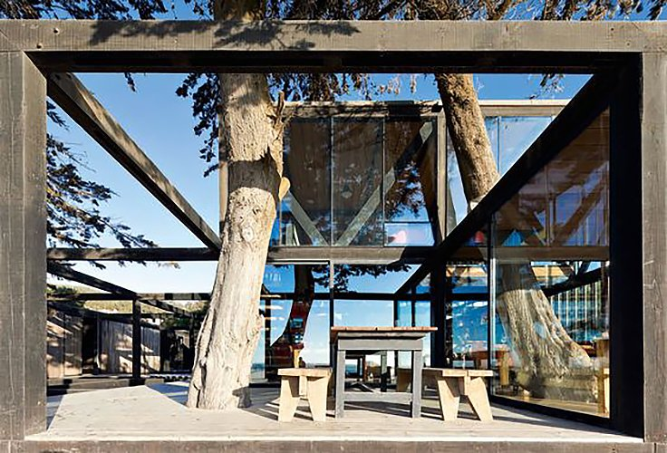 Hotel Surazo, Chile.  WMR Arquitectos  Surf Shacks by Chris Deam
