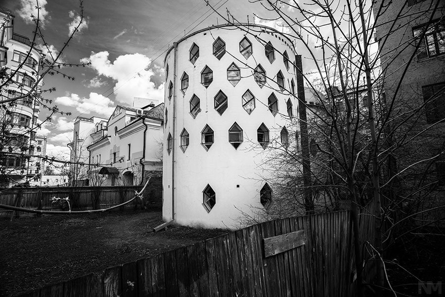 Melnikov House  The Future was... by Chris Deam