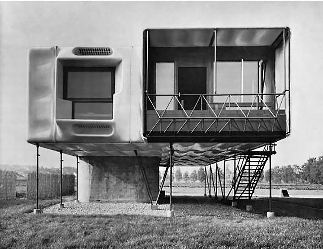 Dieter Schmid, plastic house 1963  The Future was... by Chris Deam