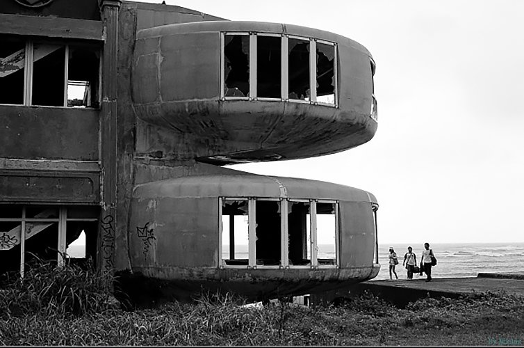 Sanzhi Houses in Taiwan  The Future was... by Chris Deam