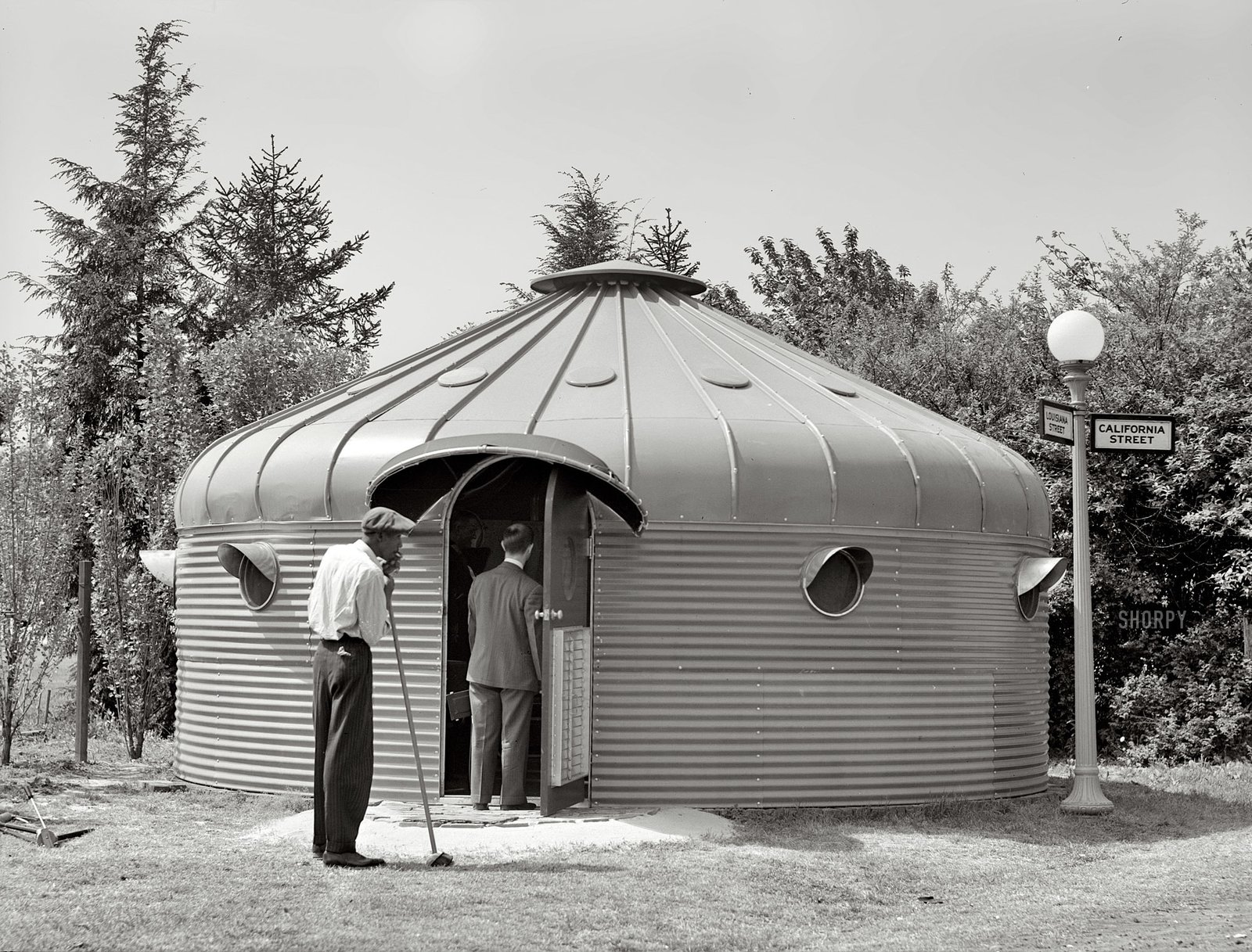 Buckminster Fuller Dymaxion House  Demountable Structures by Chris Deam