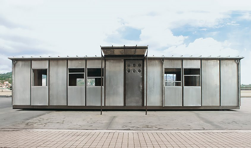 Jean Prouve, demountable house  Demountable Structures by Chris Deam