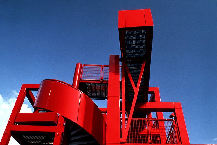 Parc de la Villette - Bernard Tschumi Architects, 1982 - 1998 RED by Chris Deam