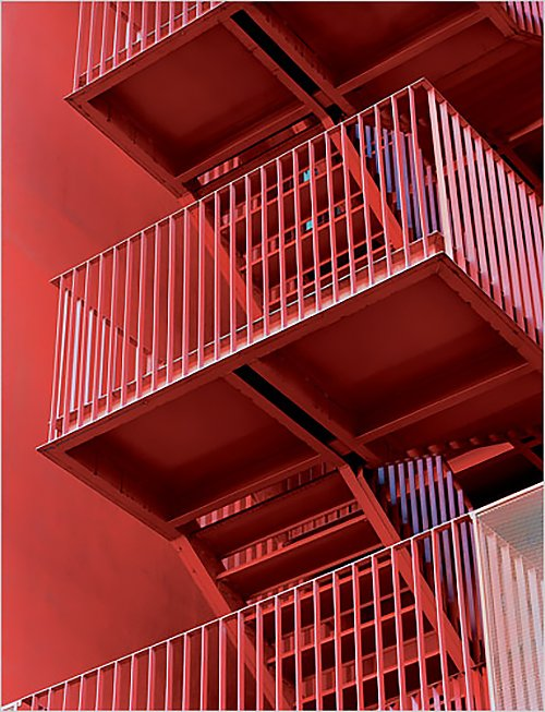 MVRDV staircase  RED by Chris Deam