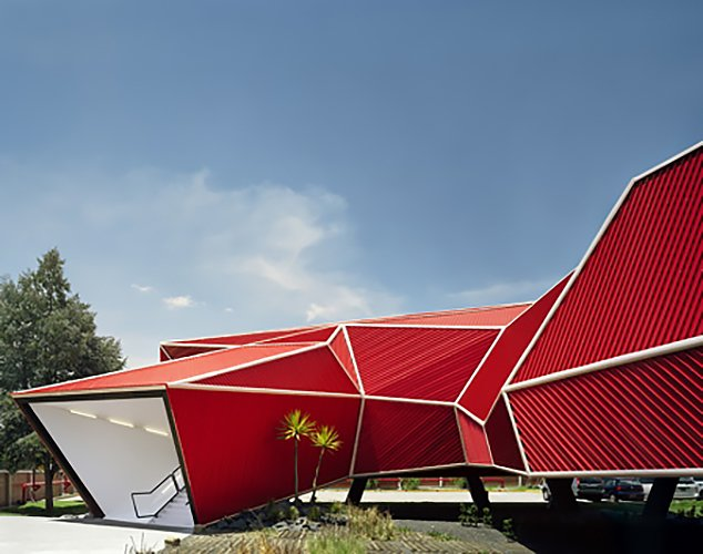 Nestlé Chocolate Museum by Rojkind Arq  RED by Chris Deam