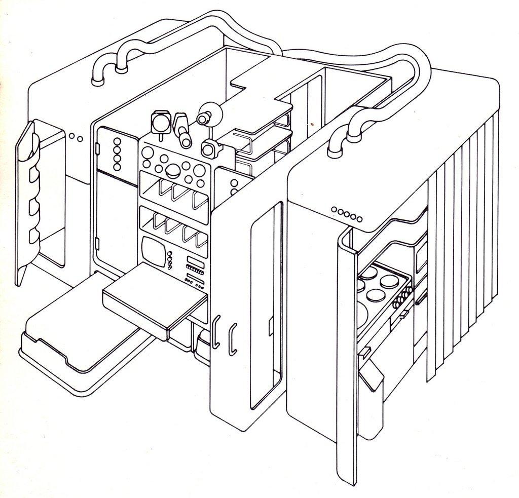 Joe Colombo, Total Furniture Unit Free Radicals by Chris Deam