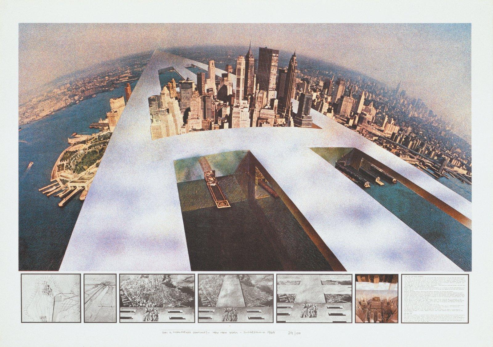 Superstudio, Continuous Monument  Free Radicals by Chris Deam