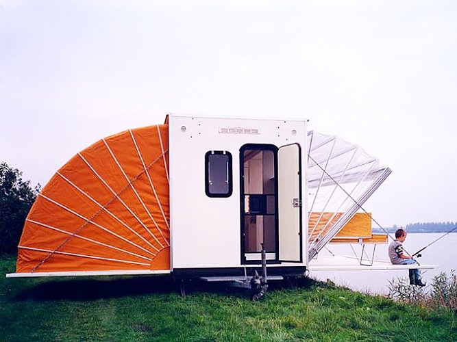 De Markies, The Awning  Off the grid by Michela O'Connor Abrams from Independence and Mobility