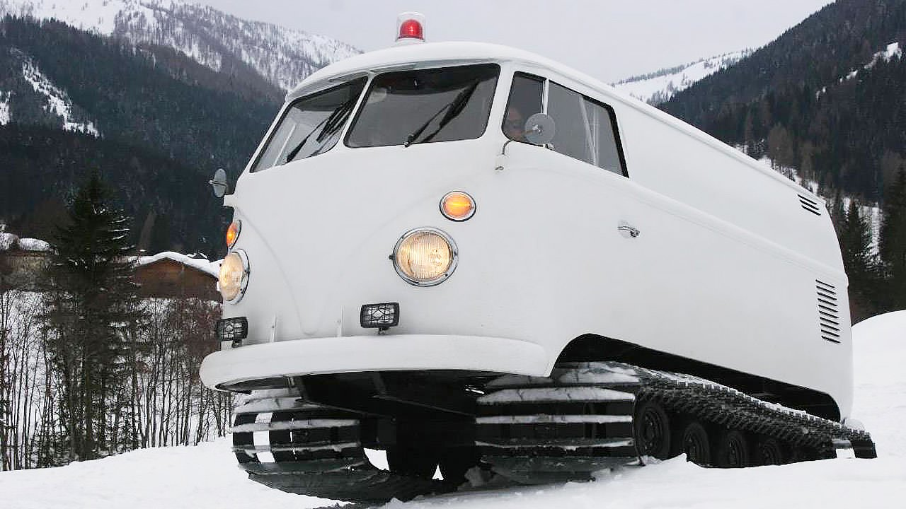 VW snow cat  Adventure by DAVE MORIN from Independence and Mobility