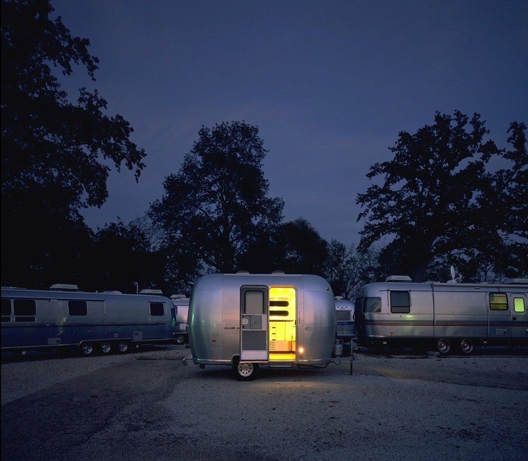 Airstream Bambi, Chris Deam  Independence and Mobility by Chris Deam