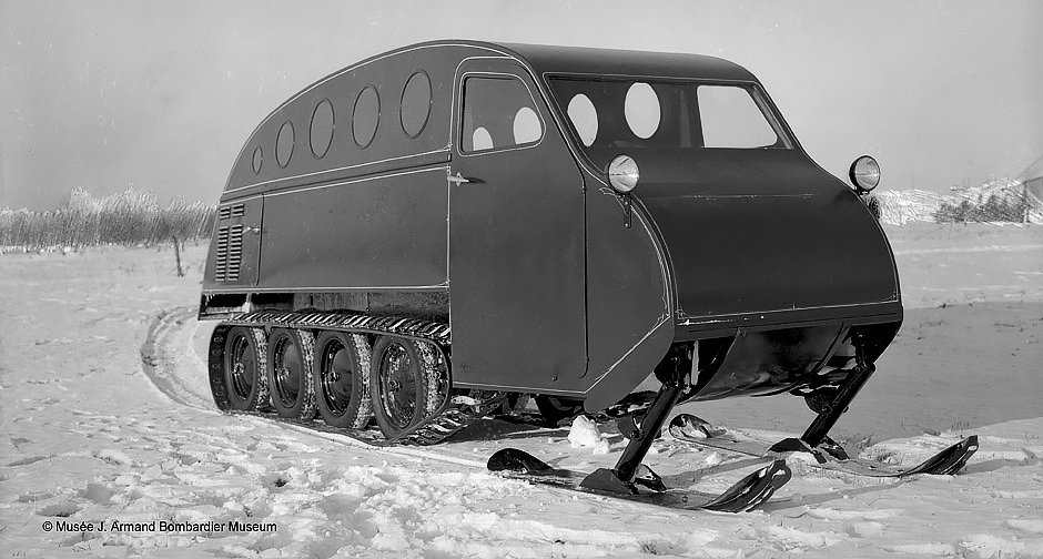Bombadier snow cat  Independence and Mobility by Chris Deam