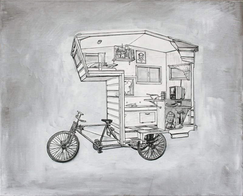 Bike Camper, Kevin Cyr  Independence and Mobility by Chris Deam