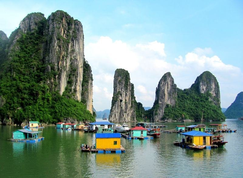 Floating Village, Ha Long Bay, Vietnam  Architecture without Architects by Chris Deam