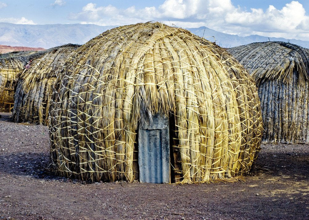 Sub-Saharan Africa reed hut  Architecture without Architects by Chris Deam