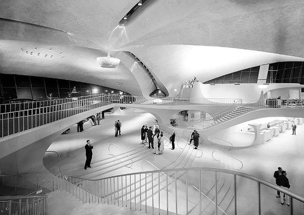 Eero Saarinen, TWA terminal at JFK