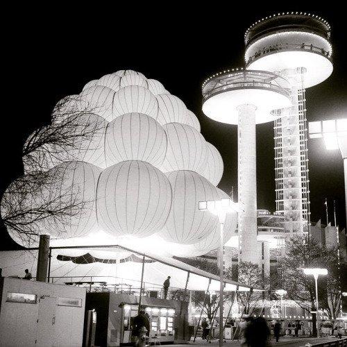 Worlds Fair 1964 Pneumatic Design by Chris Deam