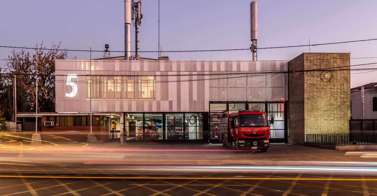 Expire Arquitectos, Chile Firehouses by Lara Deam