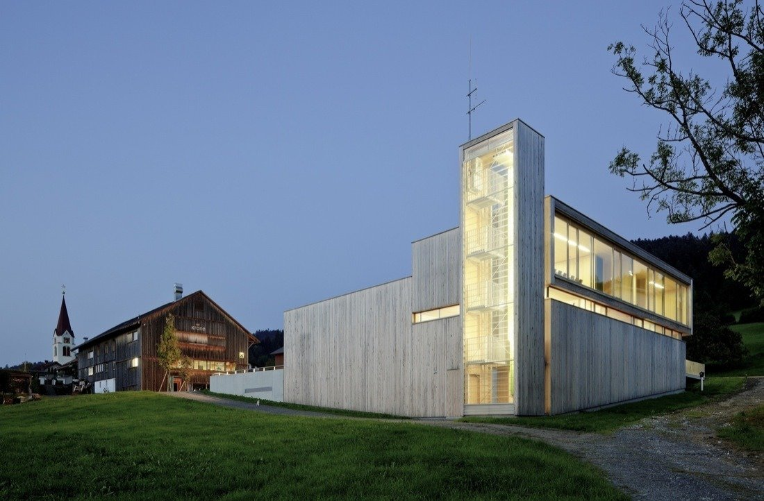 Dietrich   Untertrifaller Architekten  Firehouses by Lara Deam