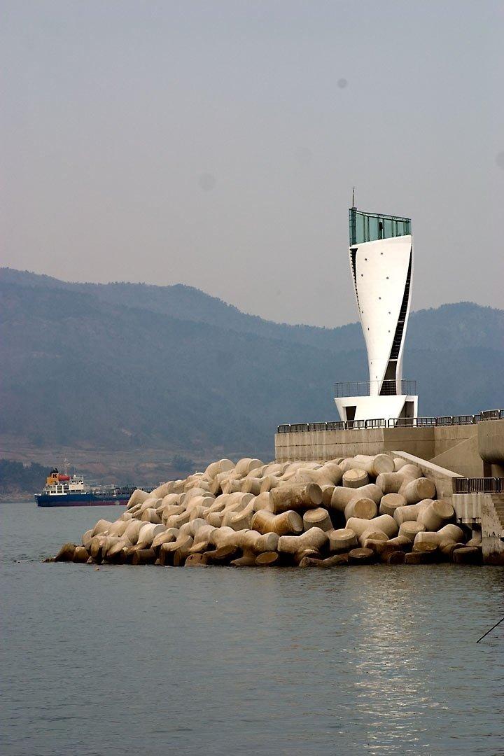 South Korea Modern Lighthouses by Chris Deam