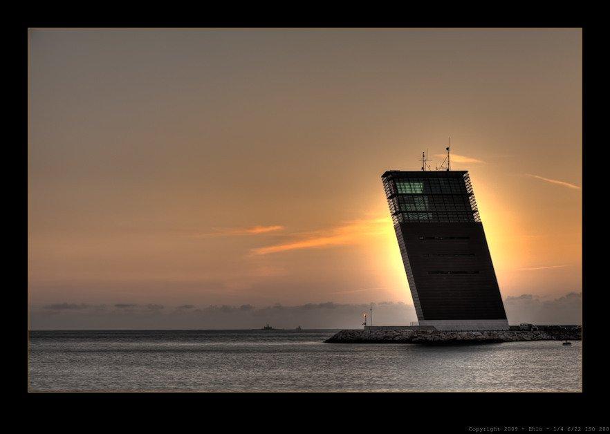 Lisbon  Modern Lighthouses by Chris Deam