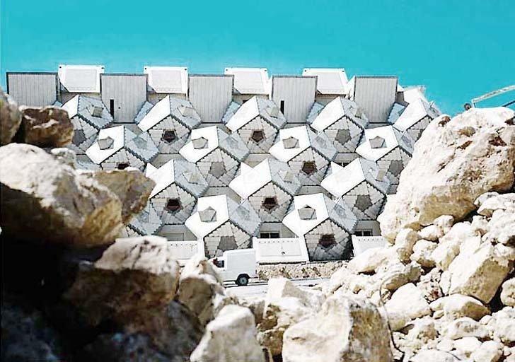 Zvi Hecher's  Ramot Polin Housing Complex  The Future was... by Chris Deam