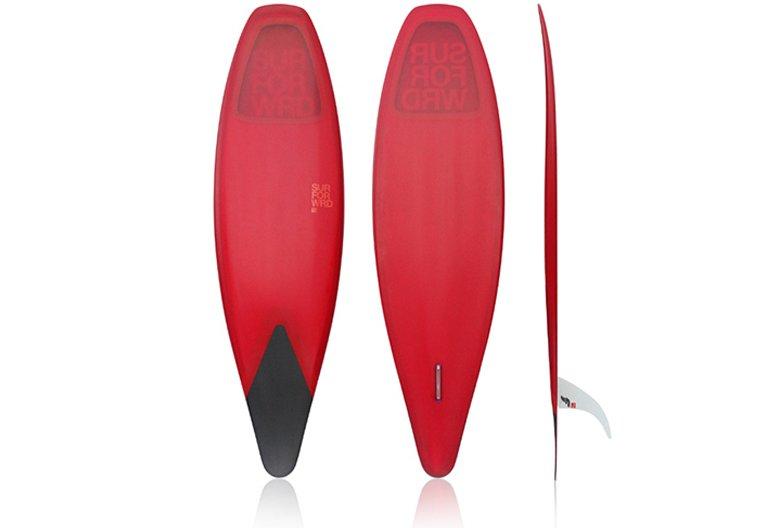 """Meyerhoffer """"slip in"""" surfboard."""