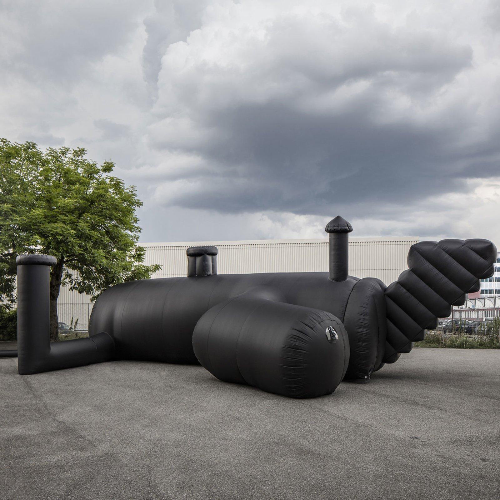 Nightclub in Switzerland by Bureau A architects  Pneumatic Design by Chris Deam