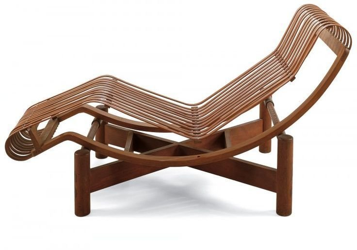 Chaise longue en bambou Japon, 1941 Independent works of Charlotte Perriand by Chris Deam