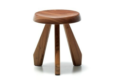 Tabouret Meribel  Independent works of Charlotte Perriand by Chris Deam