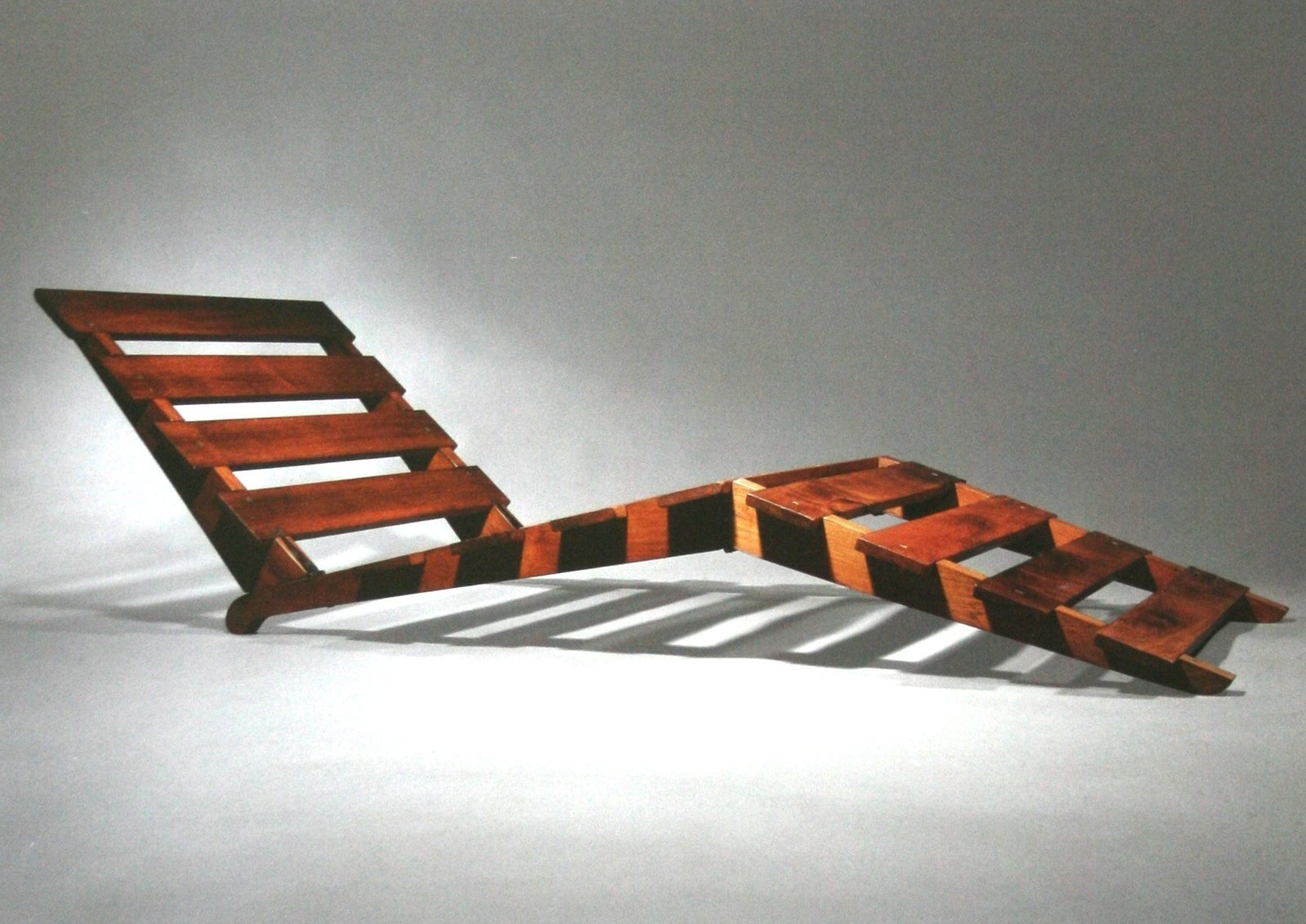 Folding wood chaise longue, 1939  Independent works of Charlotte Perriand by Chris Deam
