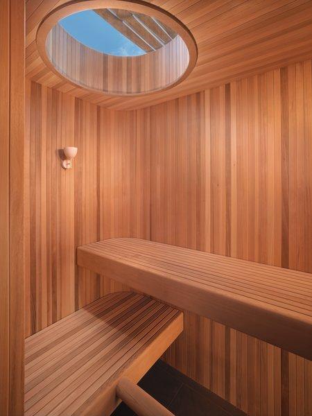 Sauna  MV House by Chris Deam