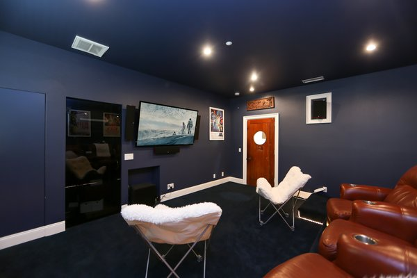 Media Room Photo 4 of 67 New Dawn, Irvine, CA modern home
