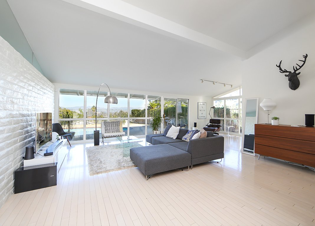 Living Room  The Martson Residence by Nook Real Estate